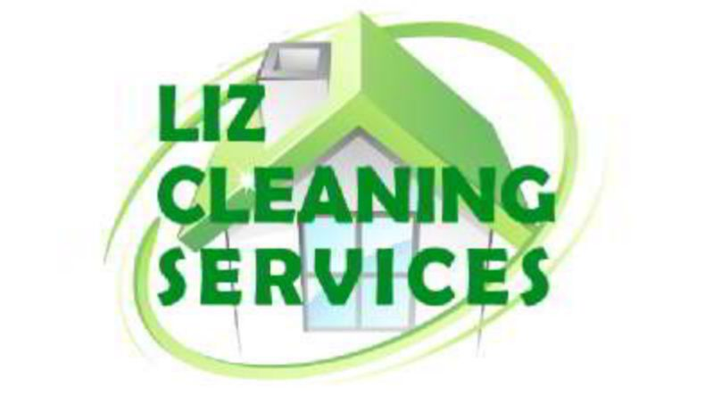 Liz Cleaning Services logo design